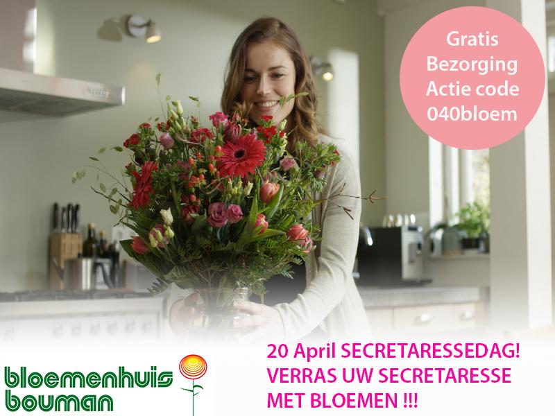 20 April Is Het Secretaressedag