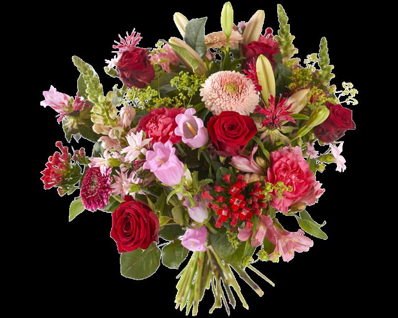 Boeket Rood-roze