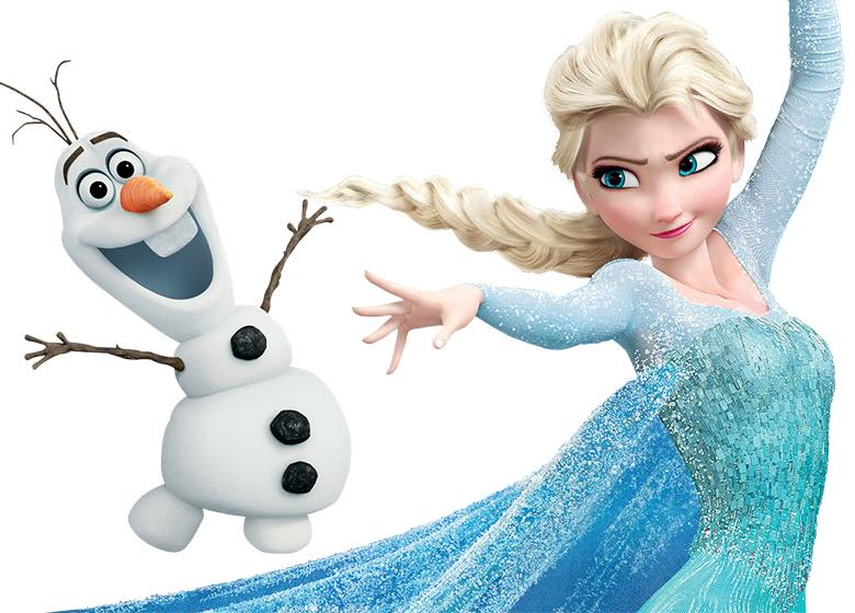 Elsa & Olaf Bij Boulevard Zuid